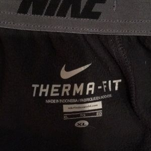 Nike Pants - Nike sweats pants Thermafit XL dark gray